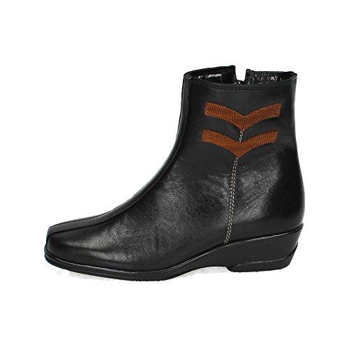 Torres ,  Damen Kurzschaft Stiefel , schwarz - Schwarz - Größe: 36