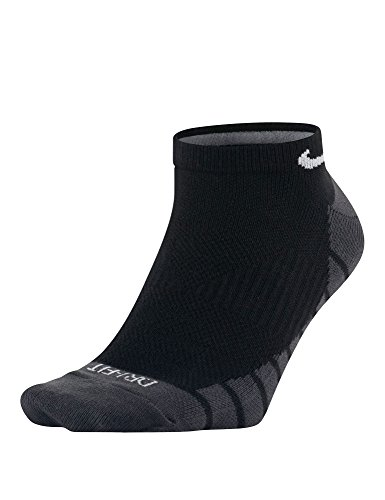 Nike Dry Lightweight No-Show Training Socks (3-pack)- Gr. M (38-42 EU), schwarz - grau - weiß