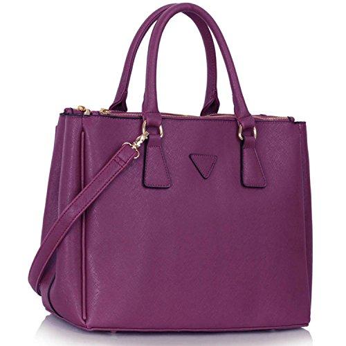 Xardi London, Borsa tote donna Purple
