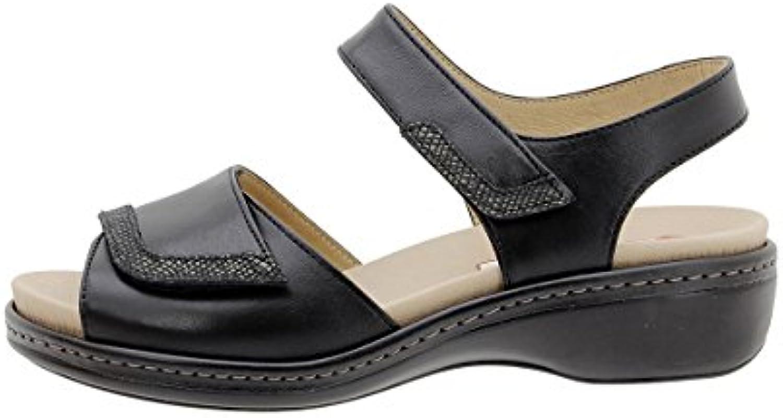 PieSanto Sandalia Plantilla Extraíble Piel Visón 180802 Zapato Confort