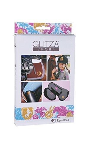 050-GLITZA Sport-Starter Set Horse Riding inkl. 50 Tattoos Tattoo, Glitzer ()
