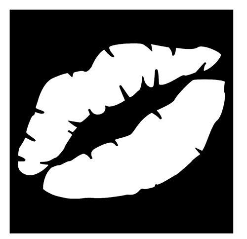 10 * 7,5 CM Kuss Markiert Den Ganzen Körper Dekoration Von Vinyl Aufkleber Auto Aufkleber Motorrad Zubehör/3PCS