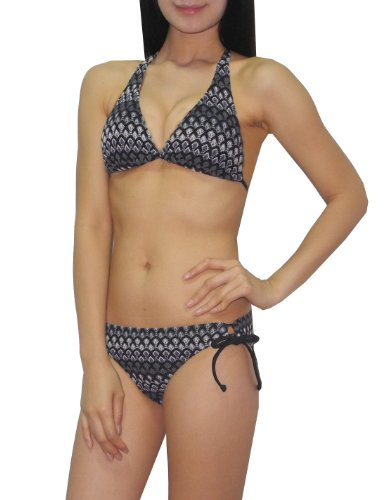 2-pcs-set-old-navy-womens-bikini-top-bottom-dri-fit-surf-swimsuit-l-b-cup-black