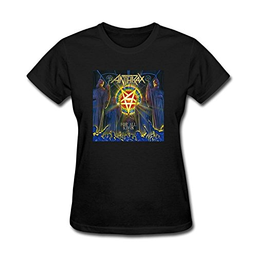 Women's For All Kings 2016 Anthrax Band T-shirt XLarge