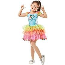 Rainbow Dash - My Little Pony - Disfraz de disfraz para niños - Mediano - 116cm - Edad 5-6