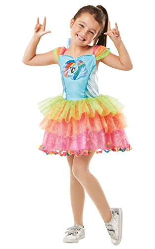 Rubie's Rainbow Dash - My Little Pony - Kostüm für Kinder - Groß - 128cm - Alter 7-8