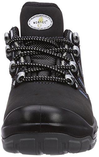 De Unisex Manolo Wortec Rot Negro Gris Zapatos S1p Seguridad wqq1Hr