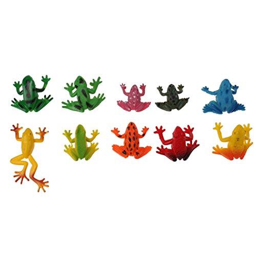 MagiDeal Plastik Tiermodell Figuren Kinder Pädagogische Spielwaren - Frösche (Frosch-figuren Sammlerstücke)