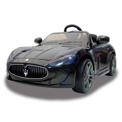 MASERATI GT GranTurismo 12V Fernbedienung Kinderfahrzeug Kinderauto in (Schwarz)
