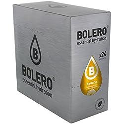 Paquete de 24 sobres bebida Bolero sabor Plátano