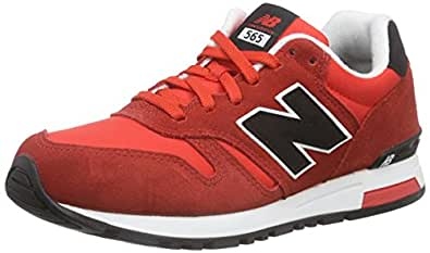 New Balance Ml565 D, Sneakers Basses Homme - Rouge (Raa Red), 45.5 EU