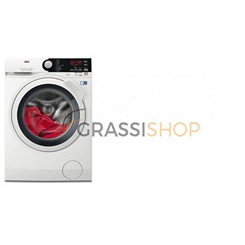 AEG L7WEE961  Lavasciuga (Carico frontale, Libera installazione,  Touch, LCD), Bianco