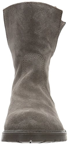 Buffalo London Damen 8036 Suede Kurzschaft Stiefel Grau (Taupe 01)