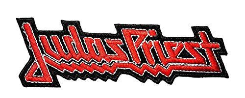 LipaLipaNa Red Judas Priester Musik Band Heavy Metal Punk Rock Logo Aufbügeln annähen Patch Jacke T-Shirt Patch Nähen Eisen auf gesticktem Symbol Badge Tuch Zeichen Kostüm Applique Souvenir Zubehör