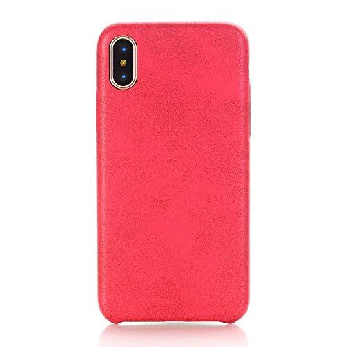 TechCode iPhone 8 Plus 2017 Hüllen, Ultra Slim Superleicht Stoßdämpfer Abdeckung Telefon Haut Super Dünner schützender Cover Fall Case Schutzhülle Bumper PU Leder Hüllen