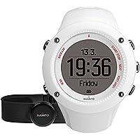 Suunto Unisex Ambit3 GPS-Uhr zum Laufen, 15 Std. Akkulaufzeit, Herzfrequenzmesser + Brustgurt, Wasserdicht bis 50 m
