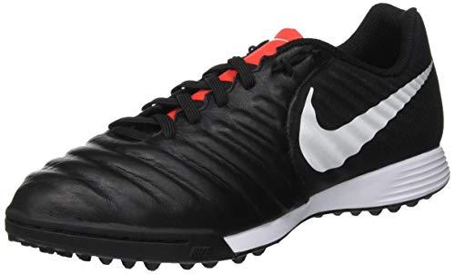 Nike Legendx 7 Academy Tf, Scarpe da Fitness Unisex-Adulto, Multicolore (Black/Pure Platinum/Lt Crimson 006), 42 EU