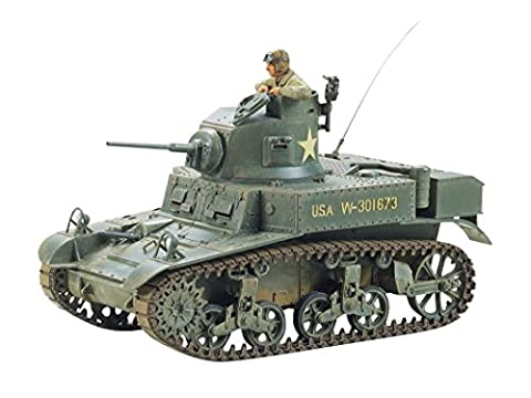 Tamiya Model Kit - US Stuart Light Tank M3 - 1:35 Scale - 35042 - New