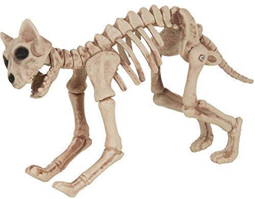 Ausgefallenes Halloween Party Dekorativ Psycho Horror Requisiten Tiere Skelett Dekorationen - Cat Skelton, One size (Halloween Skelton)