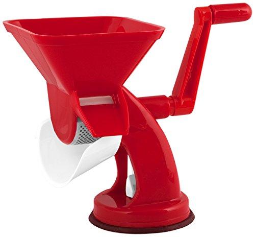 Home Classic Spremipomodoro Manuale, Plastica, Rosso