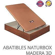 CANAPE ABATIBLE NATURBOX MADERA 3D 150X200 Cerezo