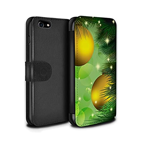 Stuff4 Coque/Etui/Housse Cuir PU Case/Cover pour Apple iPhone 7 /