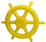 Gartenpirat Steuerrad Pirat gelb Schiffslenker für Kinder Outdoor