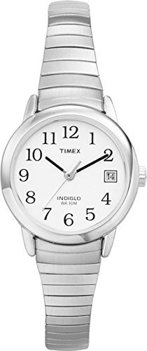 Timex-Womens-Quartz-Easy-Reader-Watch-with-Dial-Analogue-Display-and-Stainless-Steel-Bracelet-Womens
