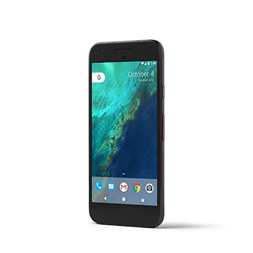 Google Pixel 4G 128GB Black - Smartphone, AMOLED, 1920 x 1080 pixels, 16.78 million colours, 100000:1, Qualcomm Snapdragon, colore nero
