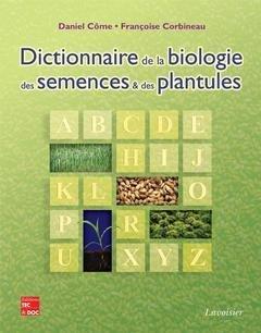 Dictionnaire de la biologie des semences et des plantules