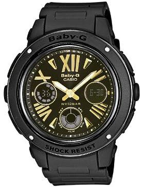 Casio Damen-Armbanduhr XL Baby-G Analog - Digital Quarz Resin BGA-153-1BER