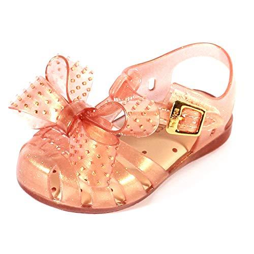 Melissa Mini Aranha Disco Bow Melflex Sandal Sunkiss Glitter-Bronze-9 Size 9