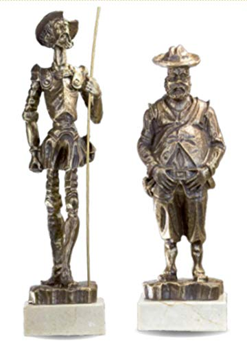 Pack figuras Quijote Sancho GRABADAS personalizadas