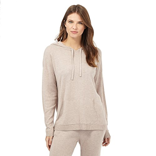 J By Jasper Conran Womens Natural Hooded Lounge Top, used for sale  Delivered anywhere in UK