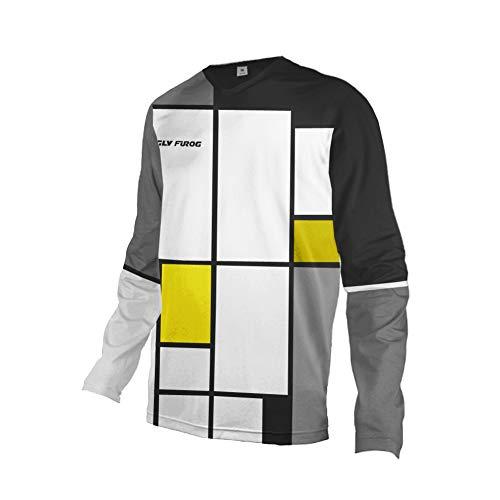 Uglyfrog 2020 Sport Cycling Element MX Jersey Enduro Cross Motorrad Motocross/MTB/Mountain Bike Wear Downhill Rundhals Shirt Herren Thermo Winter Sports Wear 27-DEHerDownMKZR03
