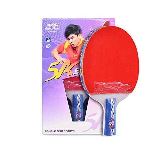 SSHHI Sport Tischtennisschlägerset, Tischtennisschläger, für Schulen und Vereine, Mode/Wie gezeigt/Kurzer Griff