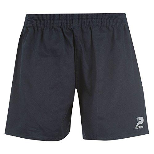 Patrick Herren Rugby Shorts Sporthose Training Leichte Gummizug Kurze Hose Blau XXXL (Herren-stretch-cargo-shorts)