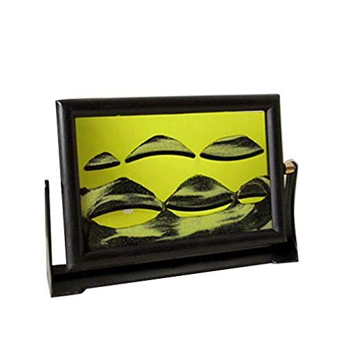 fish Farbe Random Drehbare 3D-Sand-Malerei Ornamente Harz Home Office Schreibtisch-Dekoration Geburtstags-Geschenk