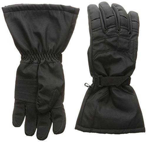 Joe Rocket Sub-Zero Men's Cold Weather Motorcycle Riding Gloves (Black/Black, Large) by Joe Rocket - Mens Joe Rocket