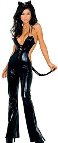 HarrowandSmith-Gatto-Nero-Costume-da-Cosplay-sexy-in-pelle-sintetica-hslb2248-UK-10