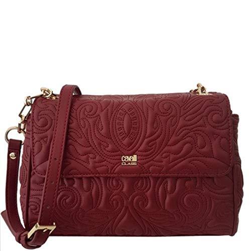 Cavalli Class Medium Shoulder Bag Blossom CRC002 Red
