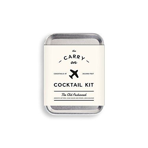 W & P Design Carry On Cocktail Kit für Old Fashioned Inflight Cocktails