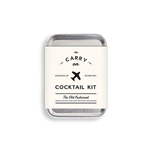 W & P Design Carry On Cocktail Kit für Old Fashioned Inflight Cocktails Old Fashioned Cocktail