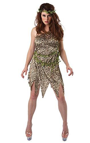 Erwachsene Damen Jane im Dschungel Kostüm Karneval Verkleidung - Sexy Tarzan Kostüm
