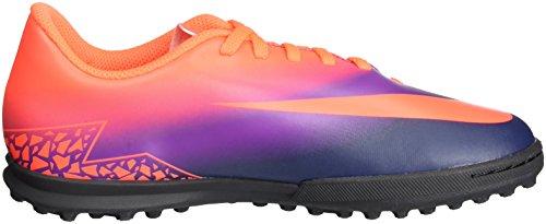 Nike 749912-845, Scarpe da Calcio Bambino Multicolore (Total Crimson/obsidian-vivid Purple)