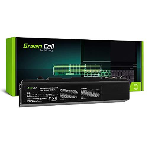 Green Cell PA3356U-1BRS PA3587U-1BRS PA3588U-1BRS Laptop Akku für Toshiba Tecra A2 A9 A10 M5 M10 R10 S3 S5 S10 Qosmio F20 Satellite Pro S300 U200 (6 Zellen 4400mAh 10.8V Schwarz) (Toshiba-laptop-power)