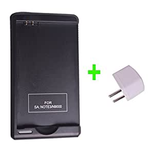 Aukru chargeur de batterie pour samsung galaxy note 3 n9000 avec port uSB