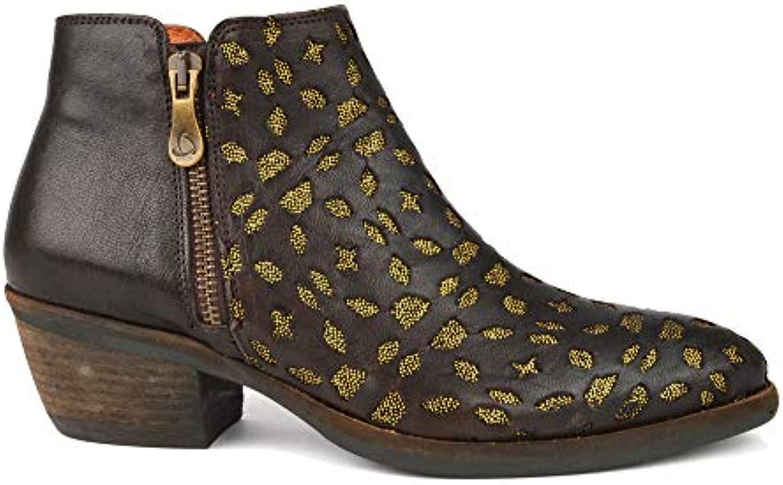 KANNA Borba - Marronee - Stivali con Tacco da Donna   Ottima selezione    Scolaro/Ragazze Scarpa