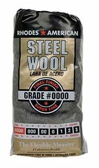 HOMAX CORPORATION 10120000 STEEL WOOL No. 0000 PK/12 (PACK OF 6)