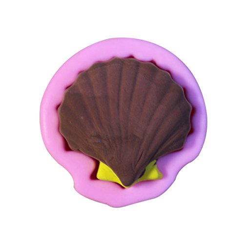 Calli 3D Shell Seashell Silicone Fondant Mold Chocolate Soap Mould